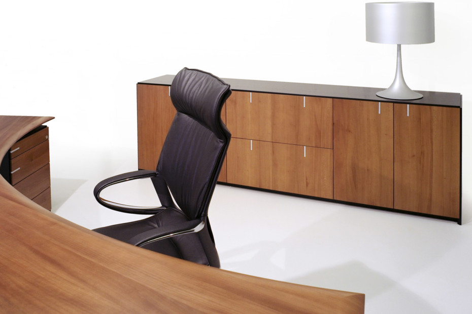 Zoom Office sideboard