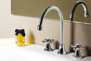 Agorà 3 hole basin mixer high spout  by  Zucchetti
