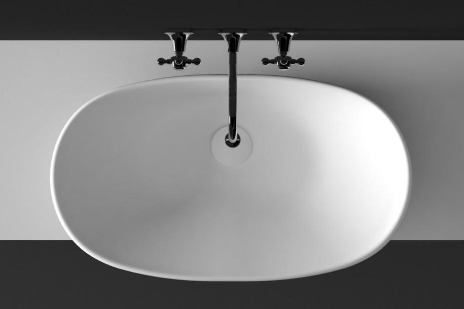 Agorà 3 hole built-in basin mixer