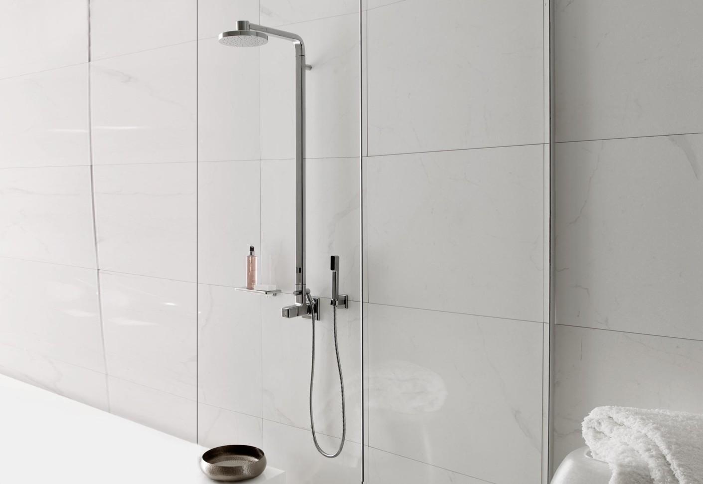 Faraway complete shower column by Zucchetti | STYLEPARK