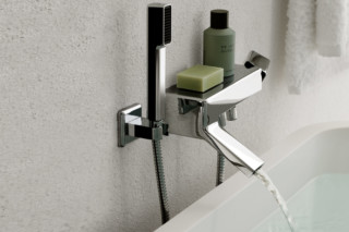 Faraway exposed bath-shower single lever mixer  by  Zucchetti