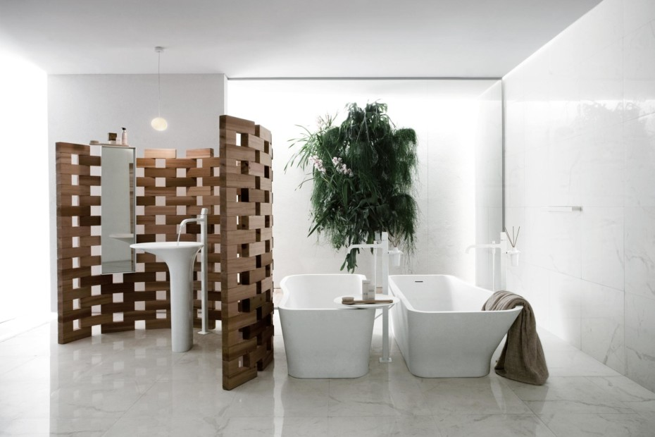 Faraway freestanding bathtub single lever mixer