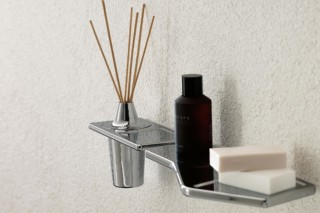 Faraway wall-mounted essence holder  by  Zucchetti