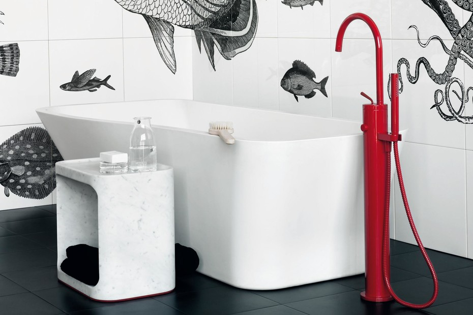 Isy Special Edition exposed bath-shower single lever mixer