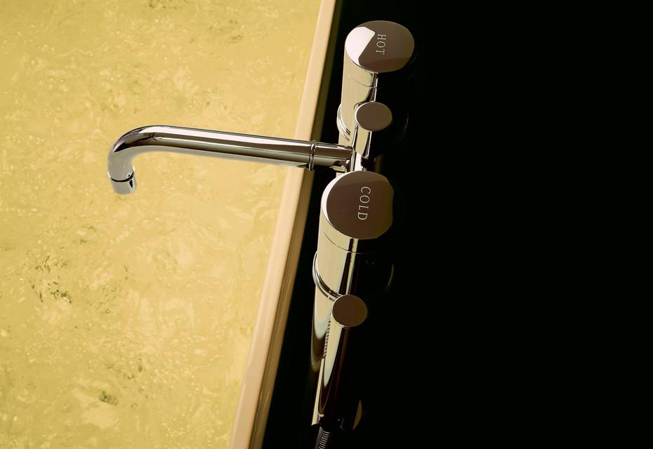 Savoy 2-hole bathtub
