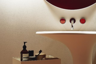 Savoy 3 hole built-in basin mixer  by  Zucchetti