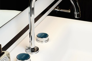 Savoy basin mixer with high spout  by  Zucchetti