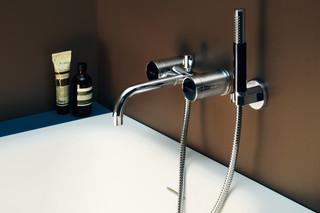 Savoy bath-shower mixer with handshower set  by  Zucchetti