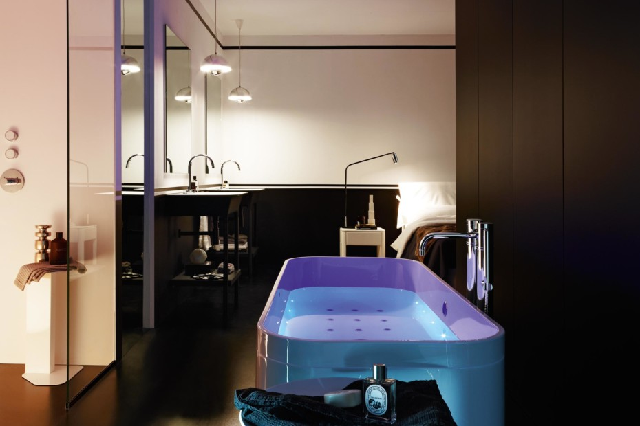 Savoy Freestanding bath-shower mixer