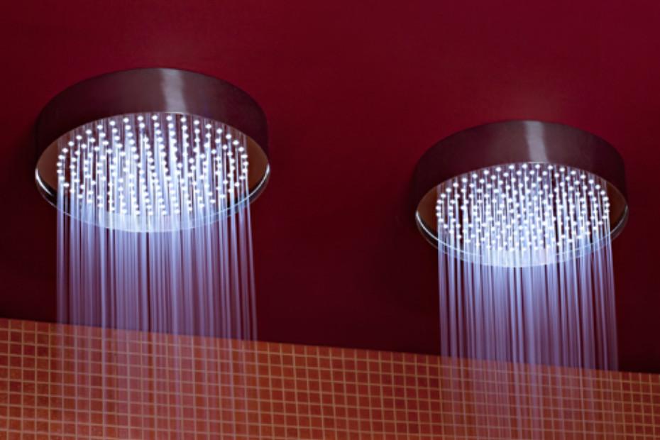 Shower head ceiling round