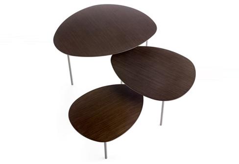 Eclipse by stua stylepark for Table de chevet couleur taupe