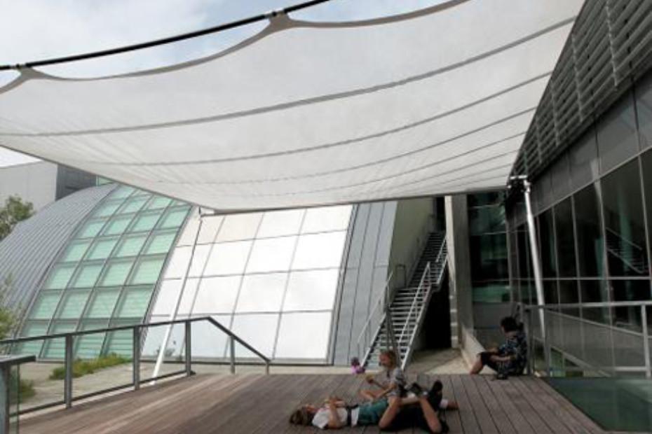 Rectangular solar panel, free standing