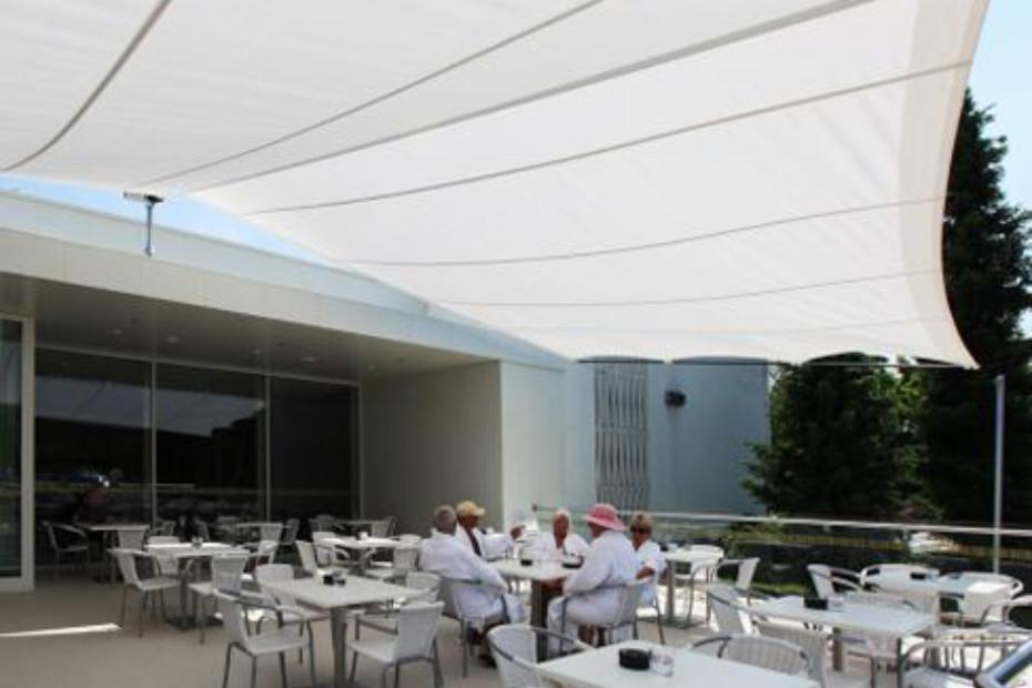 Rectangular solar panel, wall mounted