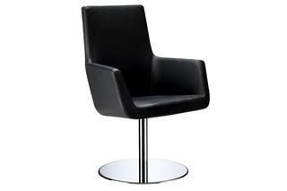 Happy Sessel mit Säulenfuß  von  Swedese