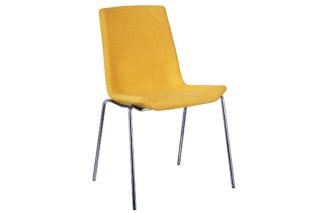 Happy chair upholstered  by  Swedese