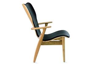 Domus  Lounge chair upholstered  by  Tapiovaara