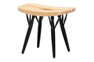 Pirkka low stool  by  Tapiovaara