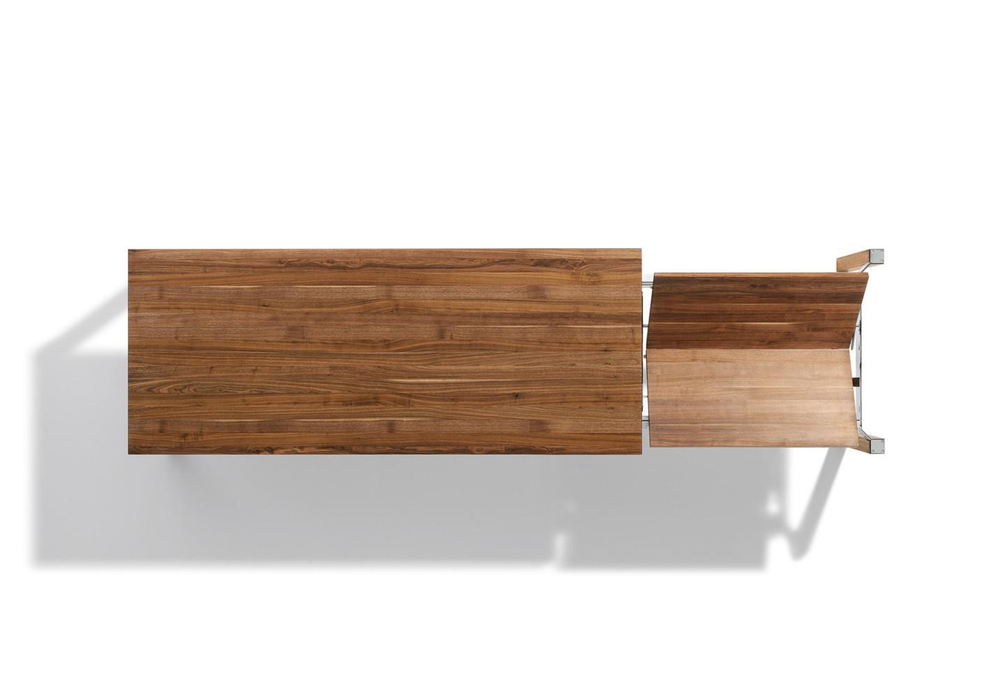 cubus plus tisch ausziehbar von team 7 stylepark. Black Bedroom Furniture Sets. Home Design Ideas