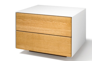 cubus pure bedside  by  TEAM 7