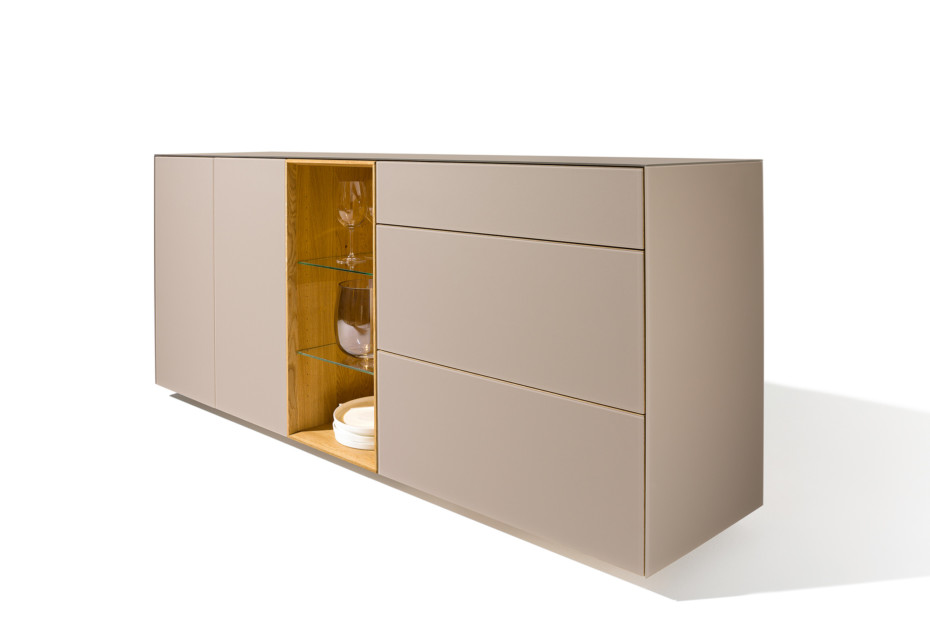 Cubus pure high sideboard by team 7 stylepark for Sideboard x7