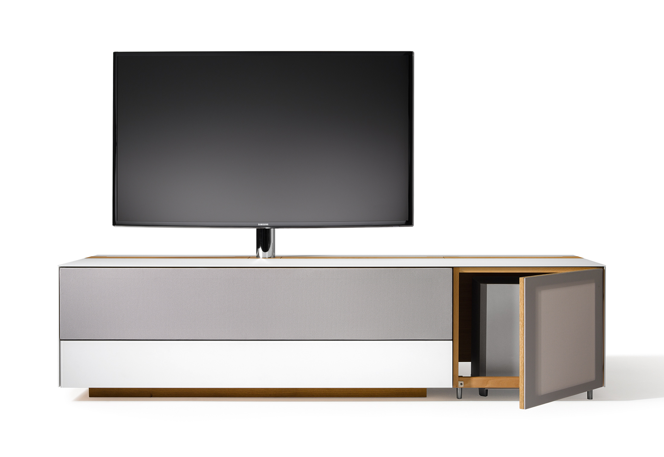 cubus pure home entertainment by team 7 stylepark. Black Bedroom Furniture Sets. Home Design Ideas