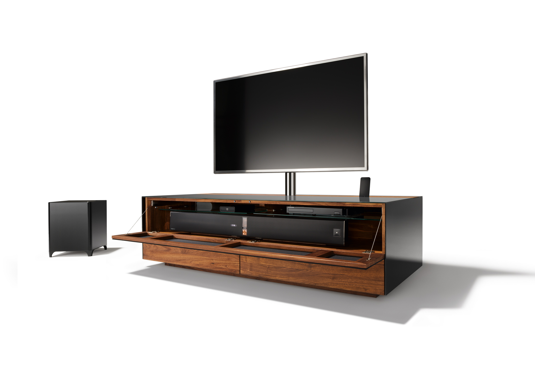 cubus pure home entertainment von team 7 stylepark. Black Bedroom Furniture Sets. Home Design Ideas