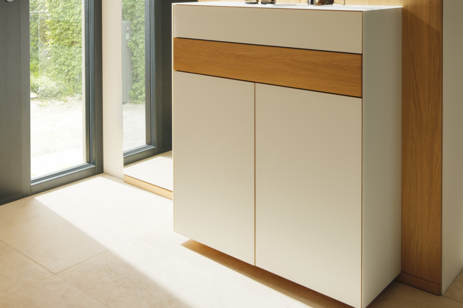 cubus pure narrow chest of drawers
