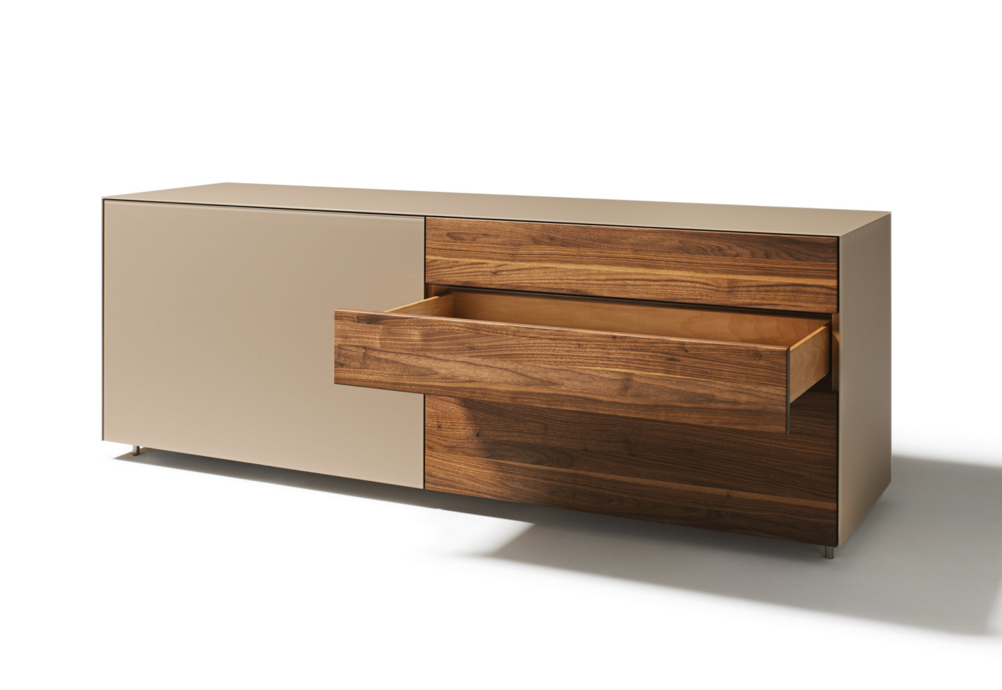 cubus pure anrichte 2 elemente von team 7 stylepark. Black Bedroom Furniture Sets. Home Design Ideas