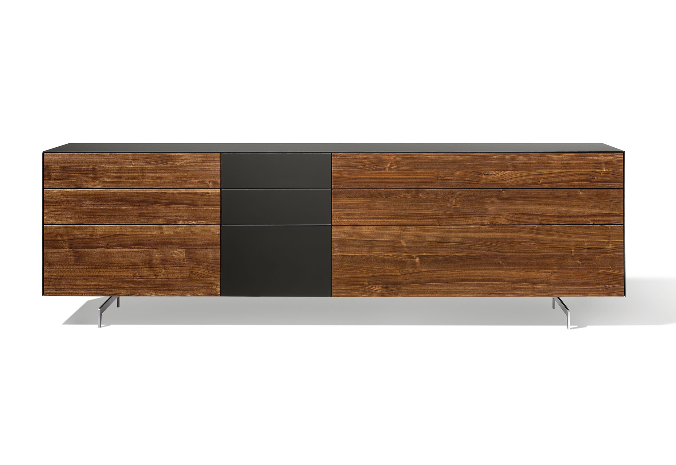 cubus pure sideboard 3 elements by team 7 stylepark. Black Bedroom Furniture Sets. Home Design Ideas