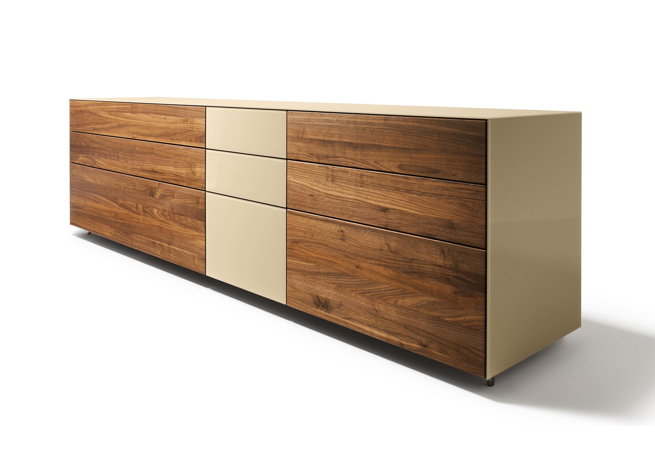 cubus pure anrichte 3 elemente von team 7 stylepark. Black Bedroom Furniture Sets. Home Design Ideas