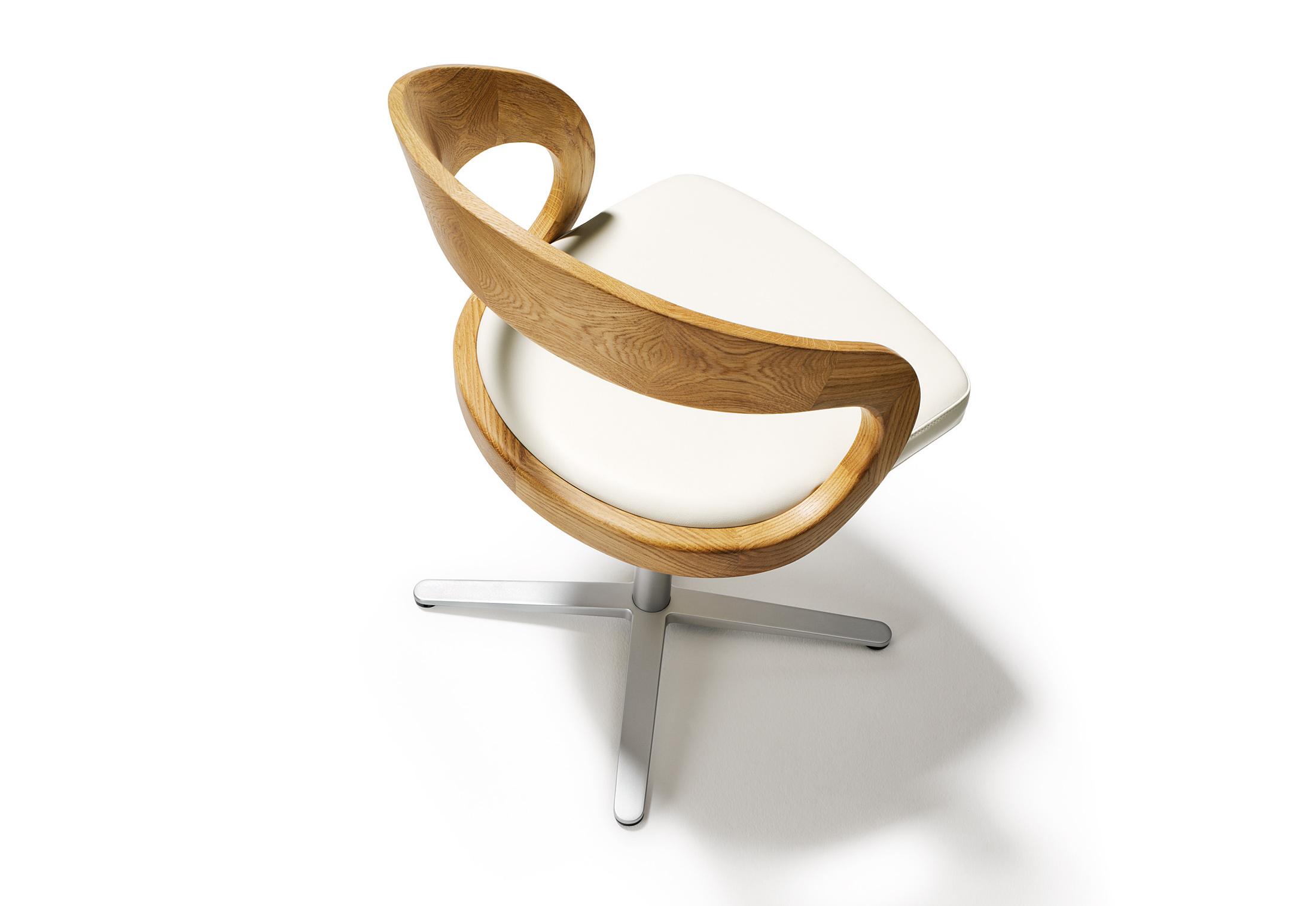girado stuhl von team 7 stylepark. Black Bedroom Furniture Sets. Home Design Ideas