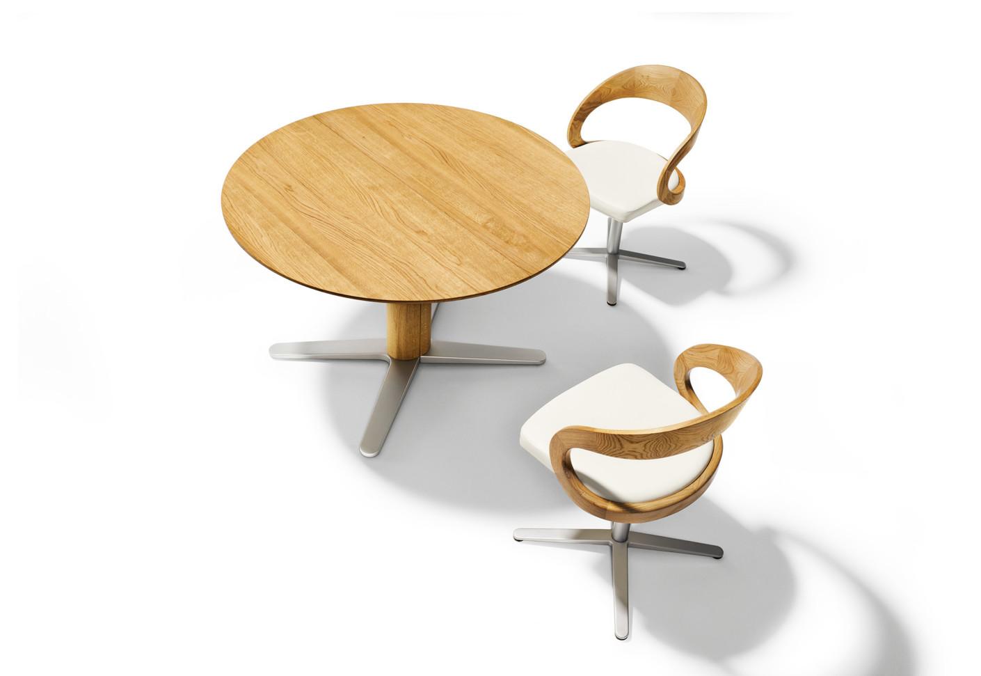 girado tisch von team 7 stylepark. Black Bedroom Furniture Sets. Home Design Ideas