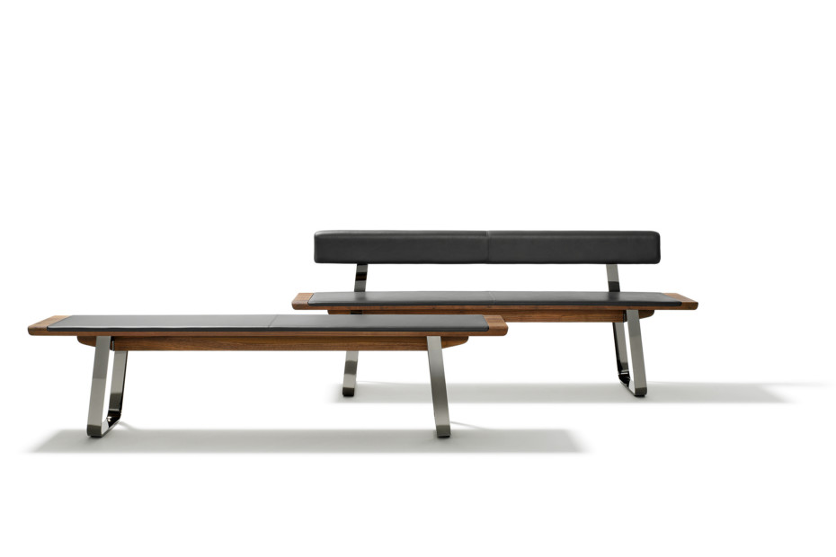 nox bench with backrest
