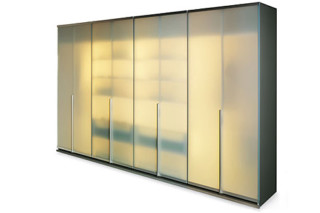 LeVa wardrobe frosted glass  by  team'by'wellis '