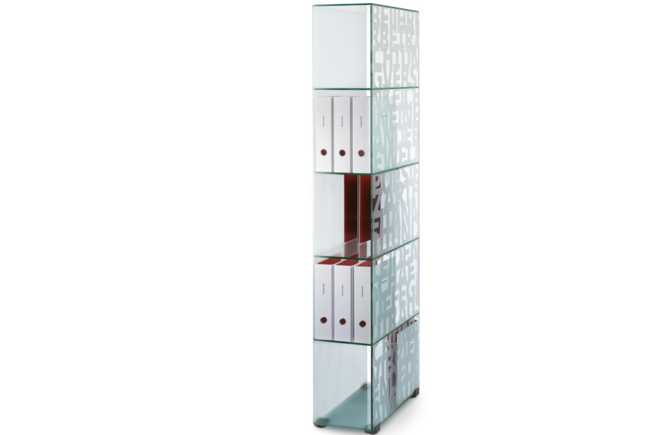 MoDu glas shelf