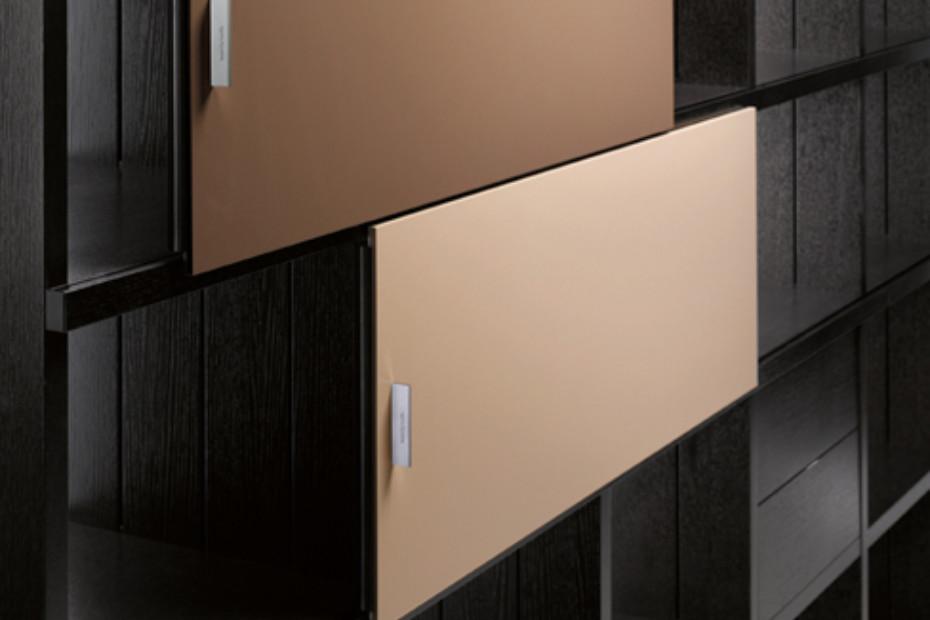 VaRe shelf-system black oak