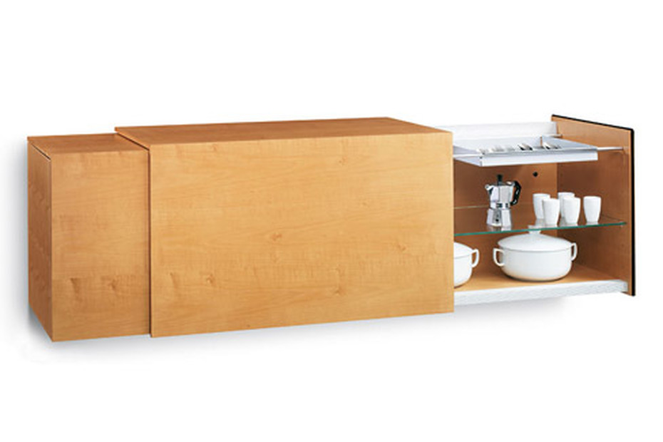 Volare wall console, double element