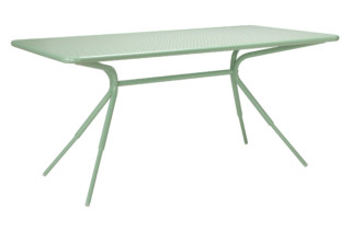 Grasshopper rectangular table  von  Tectona