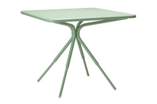 Grasshopper square table  von  Tectona