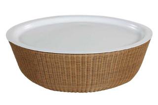 PEBBLE Side table - Tray  von  Tectona