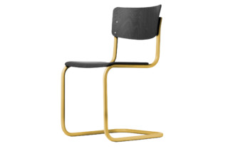 S 43 with coloured steel pipe  by  Thonet