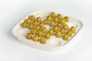 Solitaire Olive (or Malteser) Dish  by  Thorsten van Elten