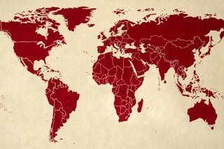 World Map  von  Thorsten van Elten