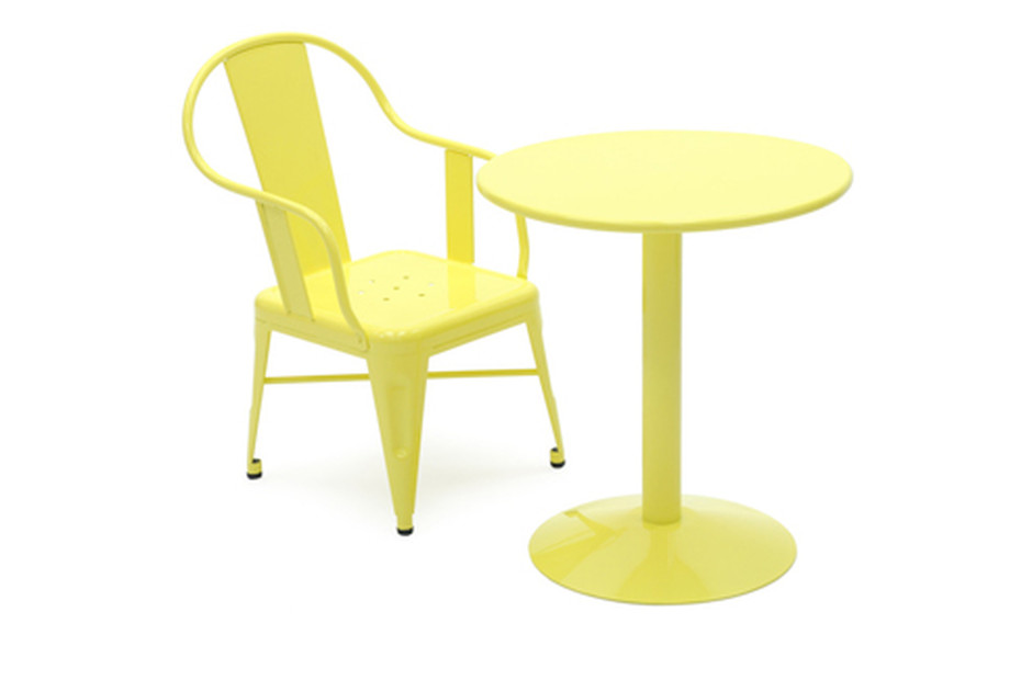Cigogne pedestal table