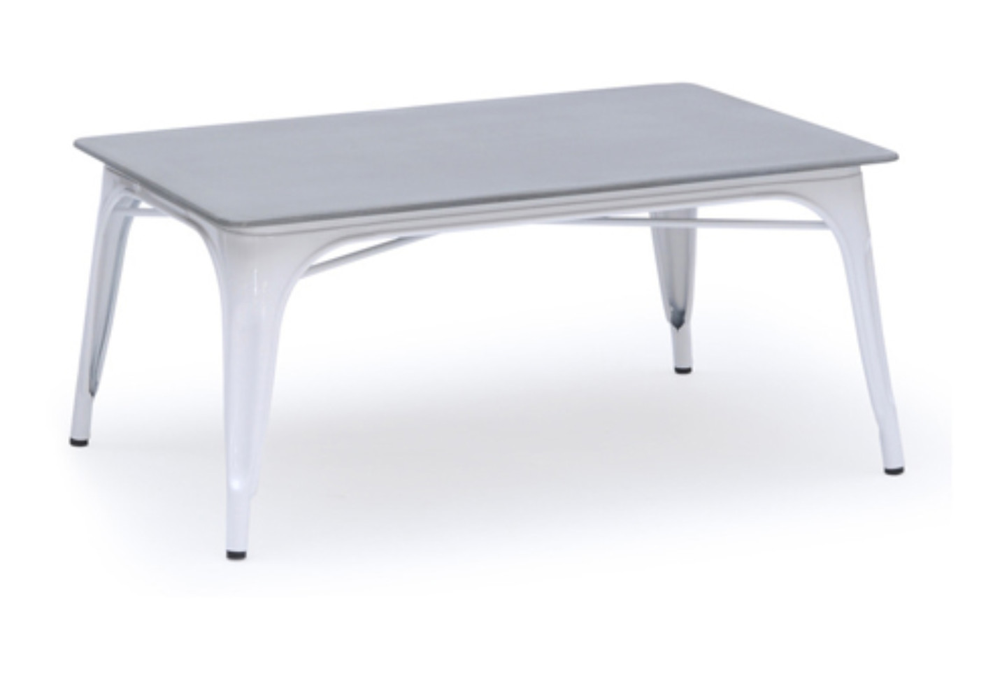 Ct table rectangular by tolix stylepark for Table style tolix