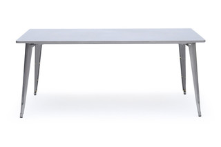 Table with stool legs  by  Tolix