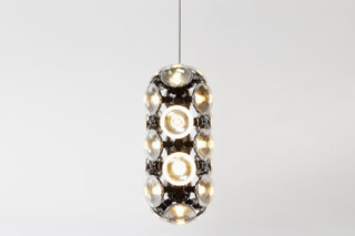 Bulb Chandelier long  by  Tom Dixon