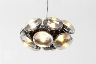 Bulb Chandelier round  by  Tom Dixon
