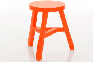 Offcut Fluoro Stool  by  Tom Dixon
