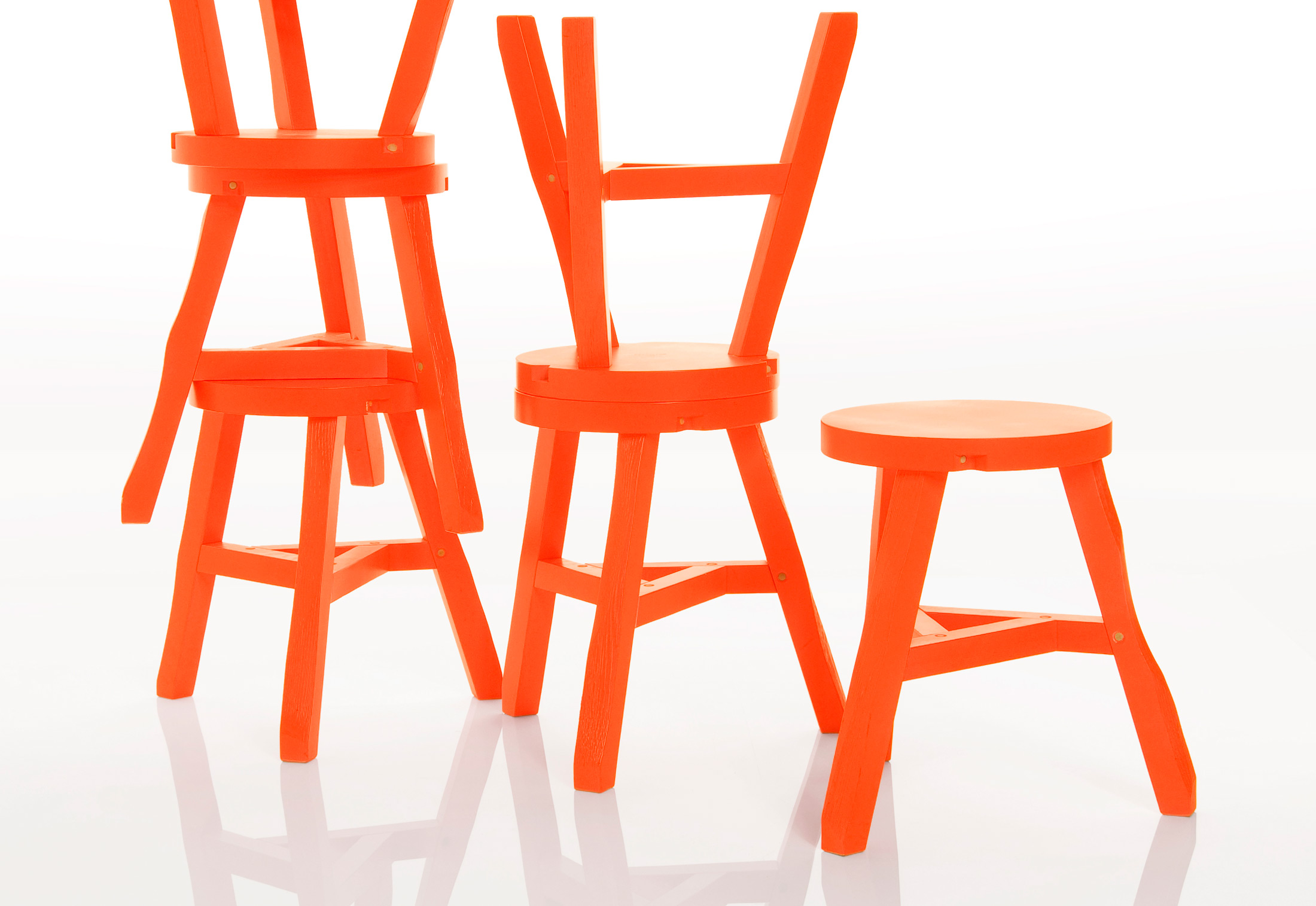 Tom Dixon Lampada Fluoro : Offcut fluoro stool by tom dixon stylepark